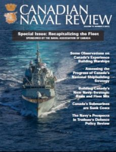 Defence Policy Review Special Issue